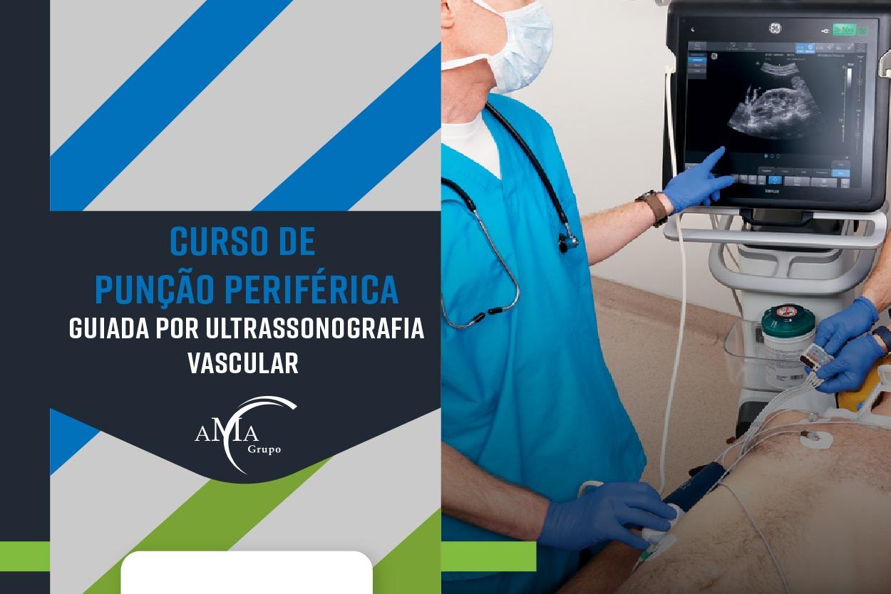 Curso para Curso de Punção Periférica  Guidada por Ultrassonografia Vascular